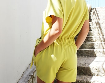 Low Crotch Jumpsuit/ Designer Jumpsuit/ Womens Jumpsuit/ Plus size Jumper/ Harem Pants/ Daywear/ Set/ by FRKT J0015