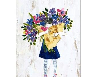 Fleuriste - A3 Art Print | Made in Australia