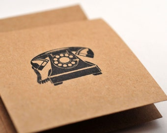 Telephone Mini Cards // Blank Cards // Enclosure Cards // Love Note // Gift Tag // Advice Cards // Scrapbooking