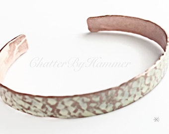 Hammered Copper Bangle, Bangle for Her Copper, Copper Gift for Her Personalized, Personalized Gift for Bridesmaid, Bridesmaid Proposal Ideas