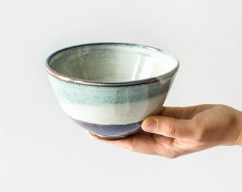 Ceramic cereal bowl//bowl for breakfast, snacks or soup//cereal bowl, bowl of pottery