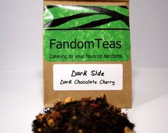 Dark Side: Dark Chocolate Cherry Tea Blend