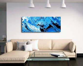 Ripple Effect  |  Acrylic Painting  |  Abstract Art