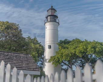 Key West Light House Wall Art