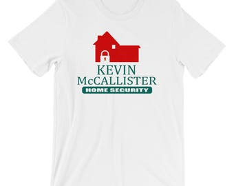 Kevin McCallister Home Security Unisex T-Shirt - Home Alone