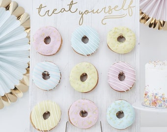 Treat Yourself Donut Wall - Gold