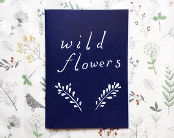 Wild Flowers ~ Zine
