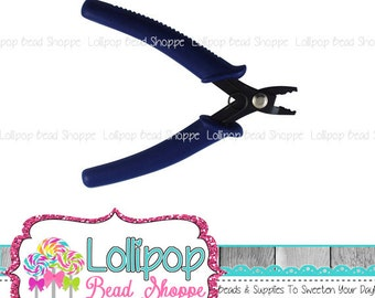 Crimping Pliers Bead Jewelry Tools - Crimp Jewelry Pliers - Blue Crimper Plier For Crimp Beads and Crimp Tubes