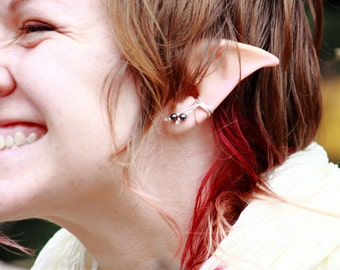 Custom Painted Elf Ears for Hobbit Pixie Dalish Fairy Costumes and Cosplay