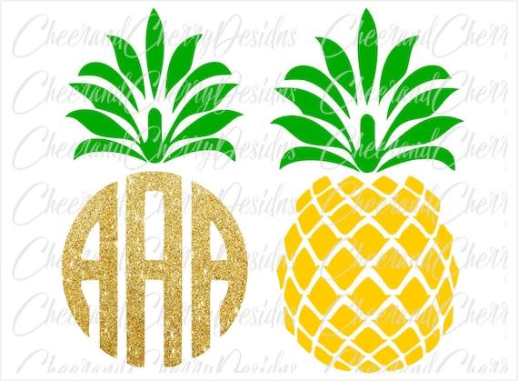 printable birthday cake topper pineapple clipart pineapple svg rh etsy com clipart pineapple outline clip art pineapple upside cake