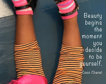 Beauty Begins Photo Quote