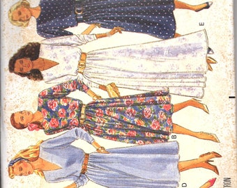 Butterick 3447 Women's Dress
