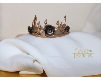"""Corona de Rosa """"Margaery Tyrell"""" Crown Throne game-Game of Thrones-cosplay"""