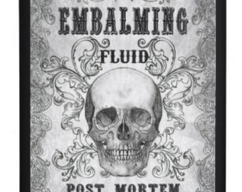 Alcohol flask Embalming fluid