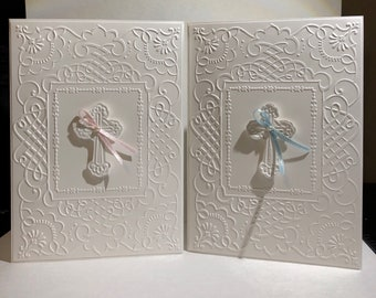 Boy or Girl Baptism/First Communion/Confirmation Card