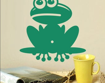 "Sticker ""Funny frog"""