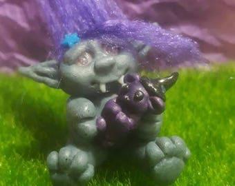 Custom troll miniature/custom troll miniature