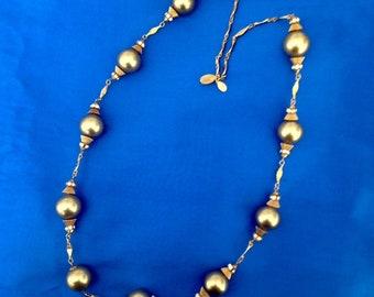 Sandra David vintage statement necklace.