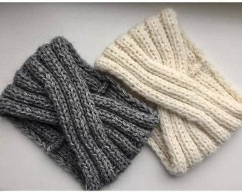 Knit Wool Headband Wide Turban Bandeau laine Alpaca Headband Women headband Wool Headband Alpaca Turban Winter Headband Wide headbands women
