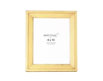 8x10 Haven picture frame - Daffodil, Free Shipping