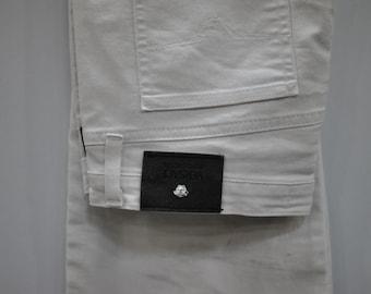 Vintage VERSACE JEANS COUTURE white pants .....(034)