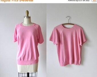 SALE Live to Tell / 80s vintage sweatshirt / 1980s pink top