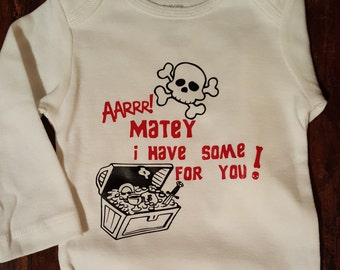 Pirate Baby Onsie