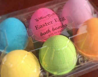 1/2 Dozen Easter Egg Bath Bombs