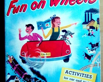 Fun on Wheels travel activity book