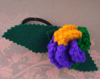 Support de crochet de queue de cheval Rose ou un Bracelet - méchant (GTS-HP-VIJK02)