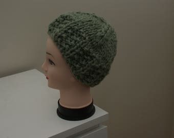 Chunky knit woolly hat, Beanie hat, Ladies Hat, Hat