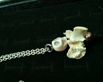 Cute real Bone necklace!