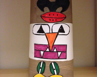 Art Lesson - Totem Poles