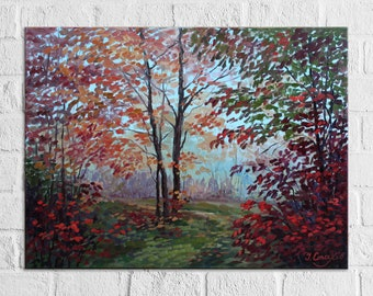 Commission Art Custom Landscape Painting From Photo Personalized Wall Art Custom Artwork Original Oil Painting On Canvas Commission Painting
