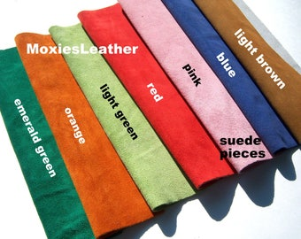 suede pieces , suede leather skins wholesale , suede scraps , suede remnants , whole suede skins ,