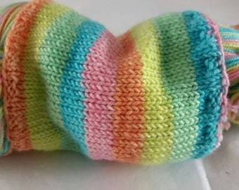 The Pastel Pony - Hand Dyed Self-Striping Sock Yarn