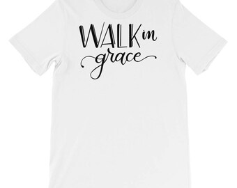Walk in Grace super soft Short-Sleeve Unisex T-Shirt