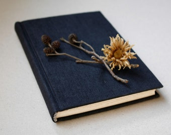 Little Black Book - hardback sketchbook / journal (fountain pen friendly)