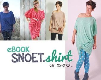 eBOOK # 76 SNOET.shirt XS-XXXL only in german langauge