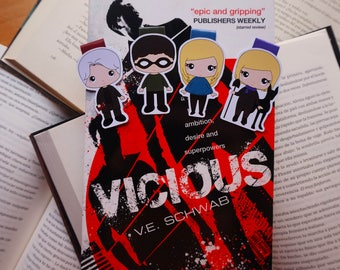 Magnetic bookmarks - Vicious, fanart