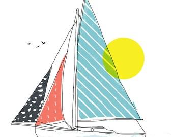 Carococo/ Partons la mer est belle! / par Carol-Anne Pedneault