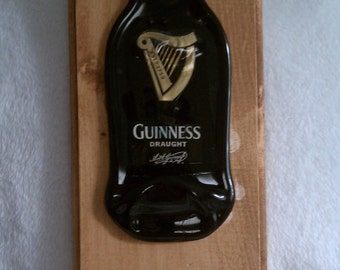 Guiness Beer Opener Plaque (will have an open bottle here opener on it)