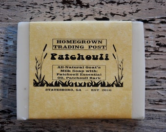 Patchouli All Natural Goat's Milk Soap