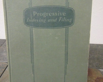 Progressive Indexing and Filing * Library Bureau Division ** 1939 **sj