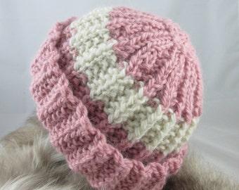 Hand Knit Alpaca Hat