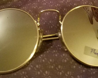 Authentic Purple Rain Round Mirror Sunglasses promotional item from tour MINT
