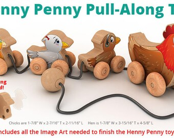 Henny Penny Pull-Along (PDF Download)