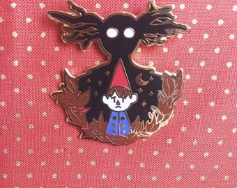 Over the Garden Wall Wirt and The Beast Enamel Pin