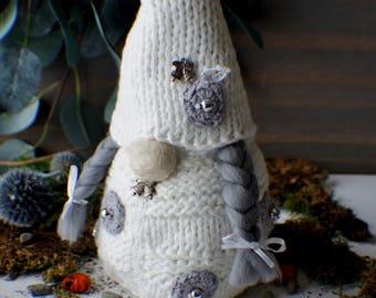 Interior Gnome, Scandinavian Gnome, Tomte, Nordic Gnome, Forest Gnome, Christmas Gnome, Elf Doll, Woodland Gnome Home decor, Christmas decor