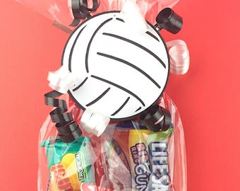 Volleyball Party - Volleyball Coach Gift - Volleyball Gift for Players - Volleyball Party Favors - Volleyball Team - Volleyball Tag